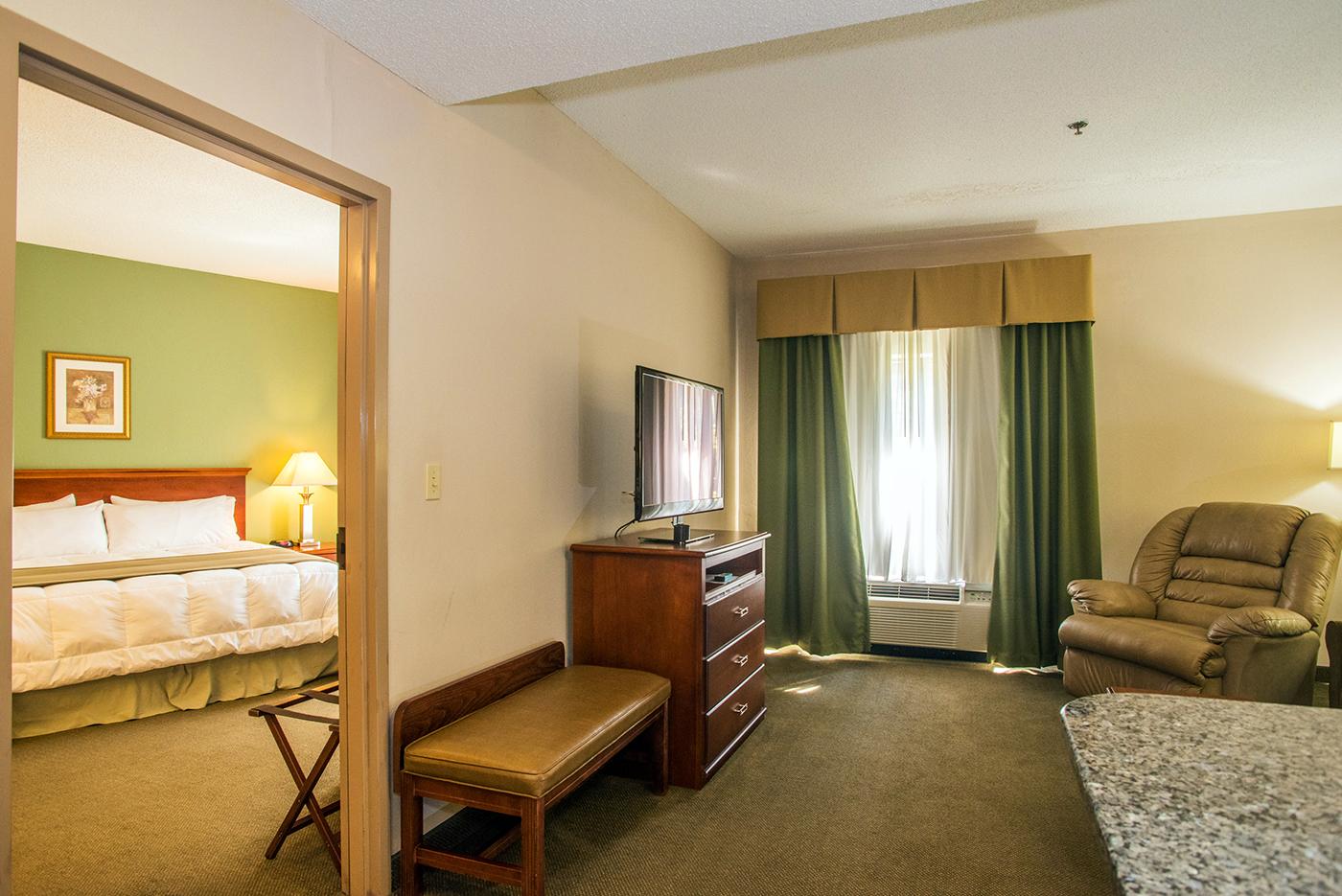 standard guest room TV