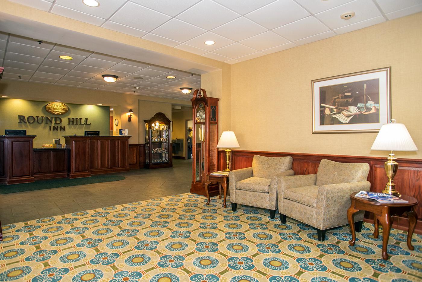 round hill inn lobby